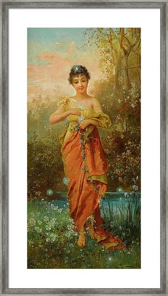 The Fireflies Framed Print