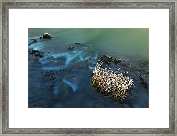 The Flow Of Time Framed Print