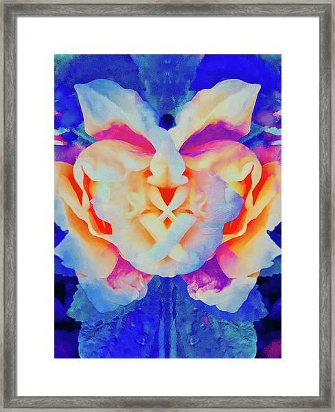 The Flower King Framed Print