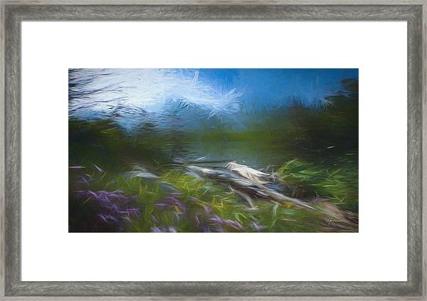 The Fog Eases Framed Print