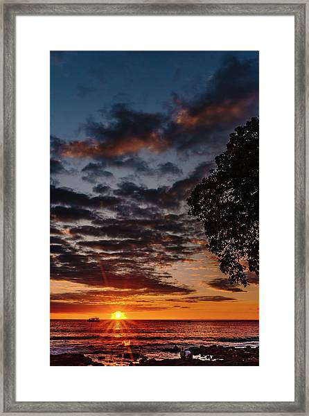 The Friday Before Christmas Framed Print