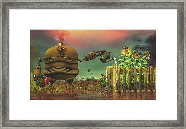 The Gardener Framed Print