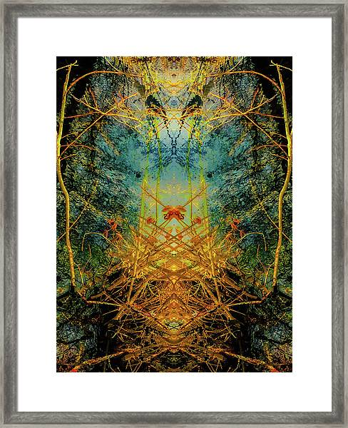 The Gateway To Fall Framed Print