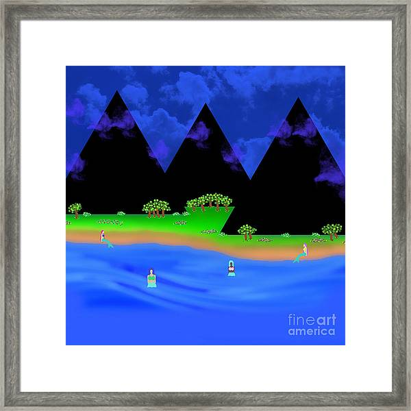 The Gathering Place Framed Print