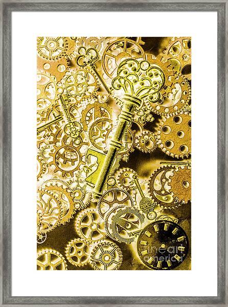 The Golden Ratio Framed Print