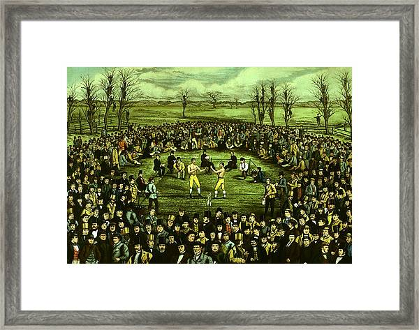 The Great Contest Framed Print by Hulton Archive