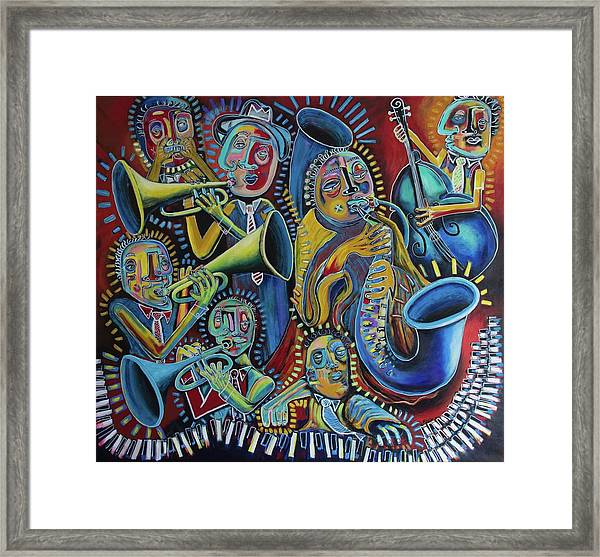 The Groove Framed Print