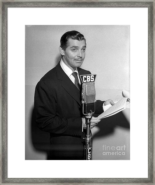 The Gulf Screen Guild Framed Print by Cbs Photo Archive