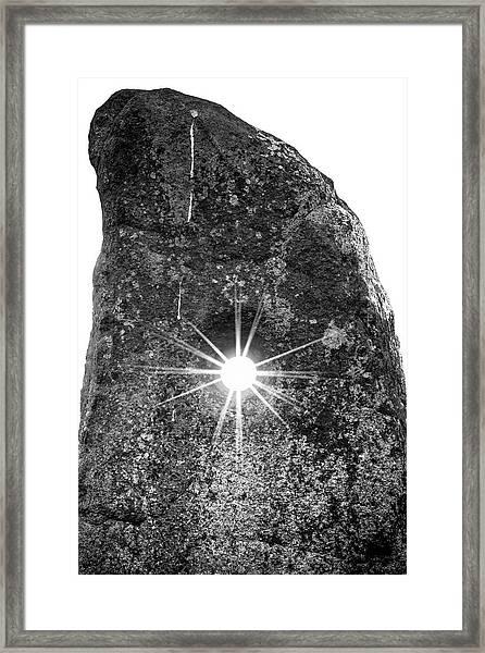 The Holestone At Doagh Framed Print