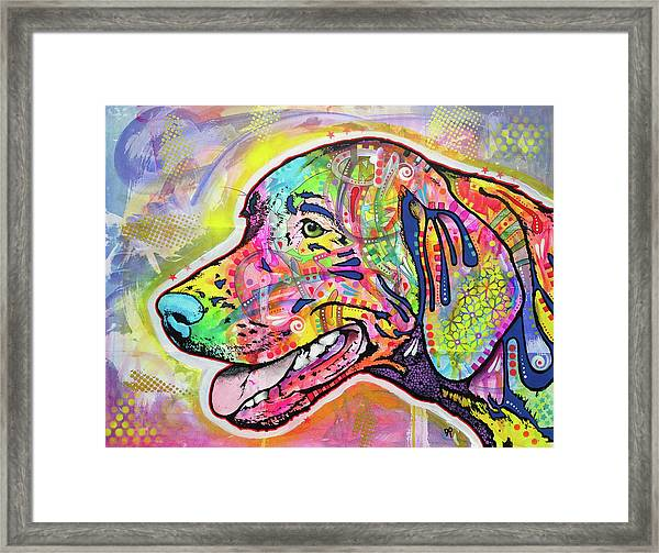 The Hunt Framed Print by Dean Russo Art