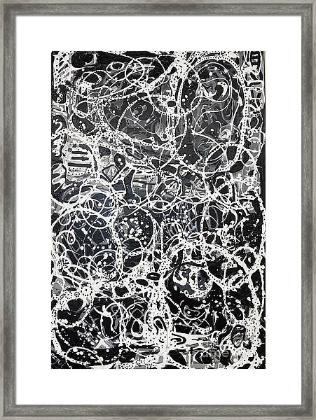 The Inner Workings Of The Womans Mind Framed Print