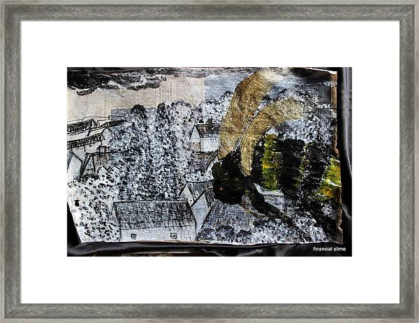 The Insects Watched Sensing They Were Next Framed Print