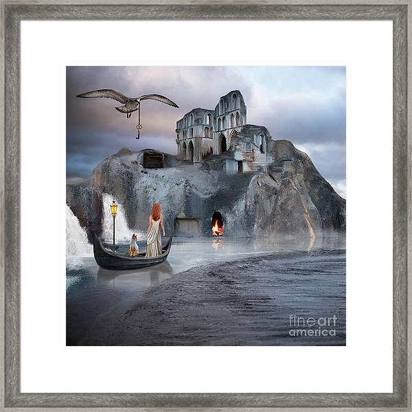 The Journey To Atlantis Framed Print