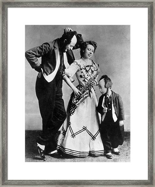 The Keaton Show Framed Print