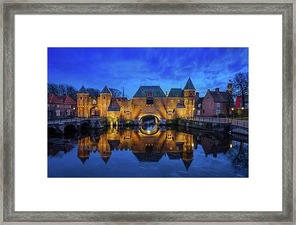 The Koppelpoort Amersfoort Framed Print