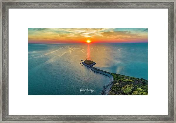 The Last Ray Framed Print
