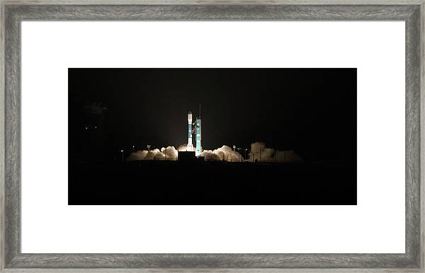The Light Of A New Day Framed Print