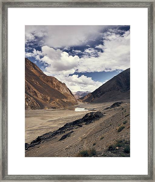Framed Print featuring the photograph The Long Journey by Whitney Goodey