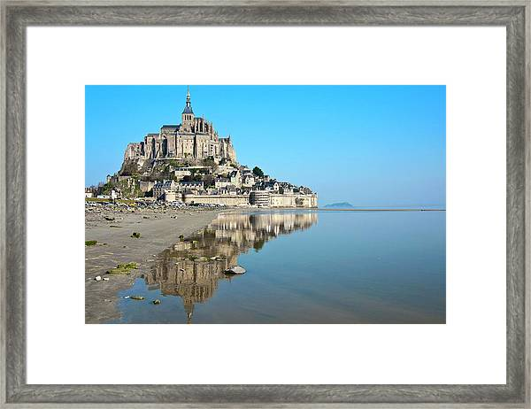 The Magical Mont Saint-michel Framed Print