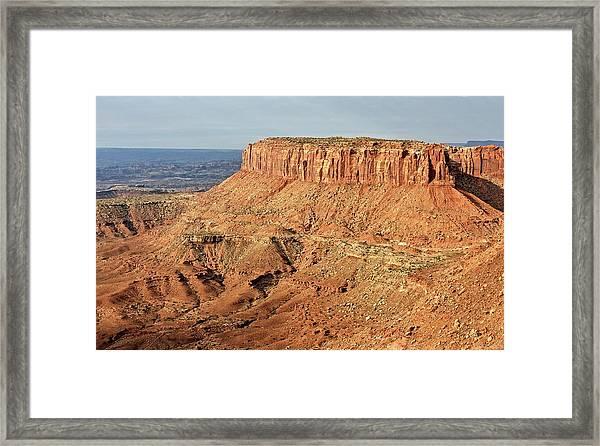 The Mesa Framed Print