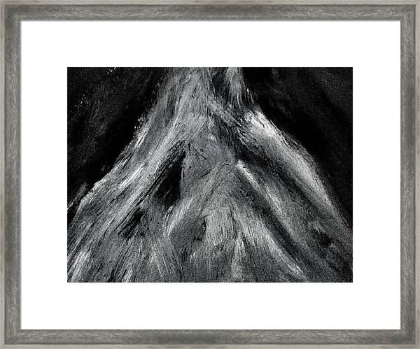 The Mountain Of The Swasi People Framed Print