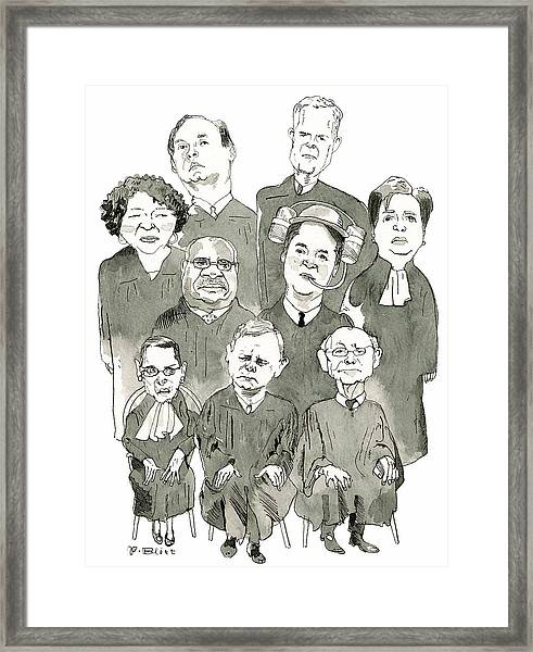 The New Supreme Court Framed Print