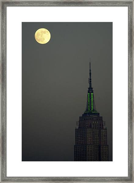 The New York Sky Takes On The Framed Print