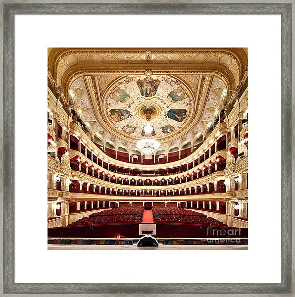 The Odessa National Academic Theater Of Framed Print