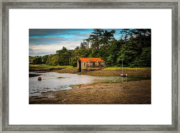 The Old Boat House Framed Print