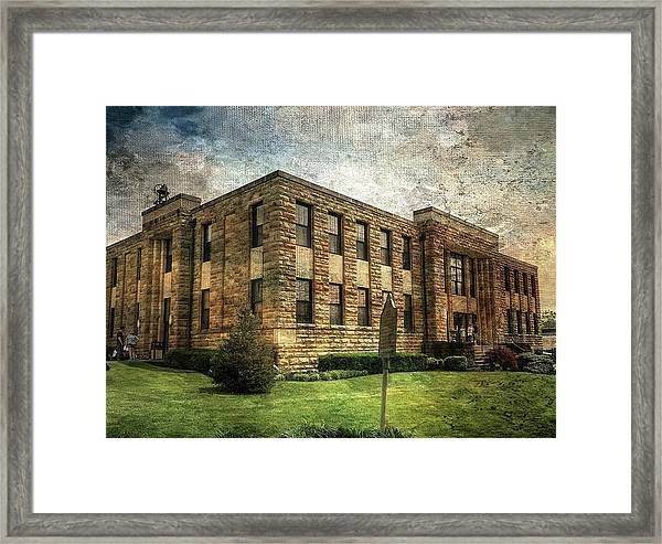 The Old County Courthouse Framed Print