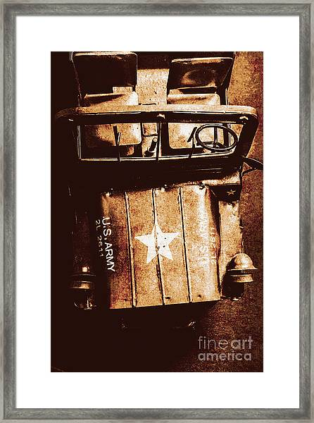 The Old Guard Framed Print