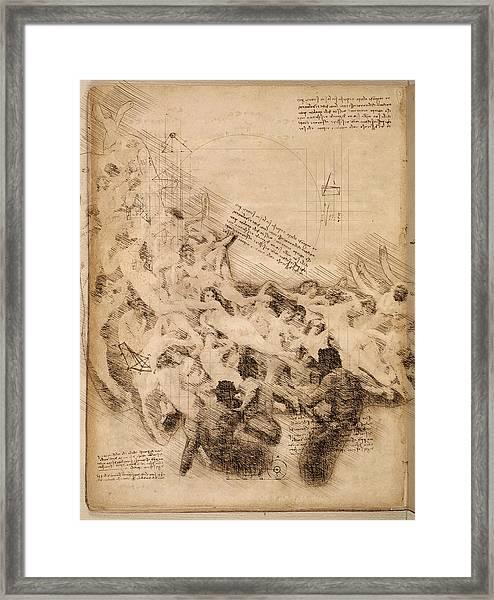The Oreads Framed Print