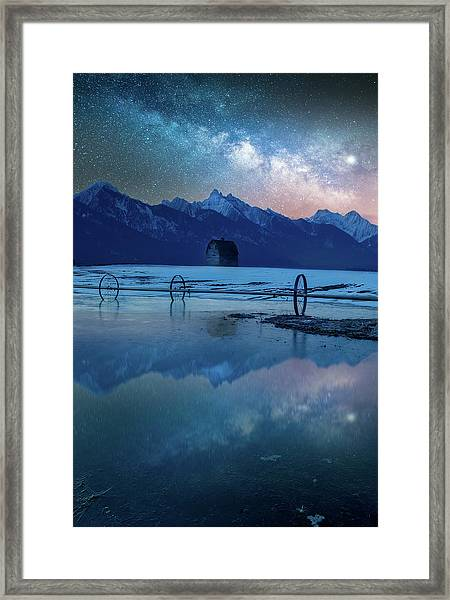 The Original Montana Dream /  Ronan, Montana Framed Print