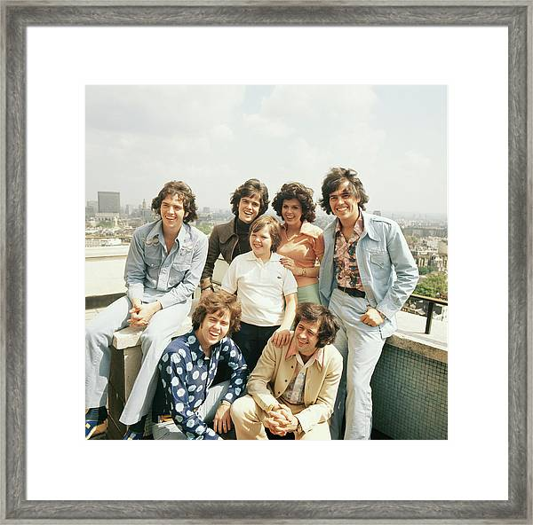 The Osmonds In London Framed Print