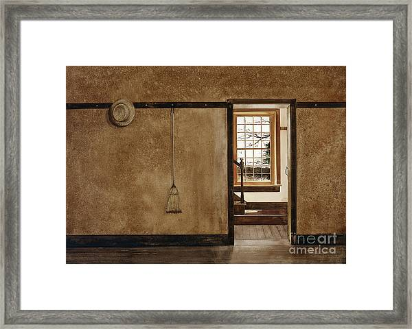 The Outer Hall Framed Print