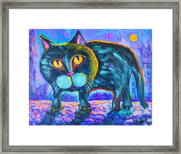 The Owner Of The Night 11x14 Framed Print