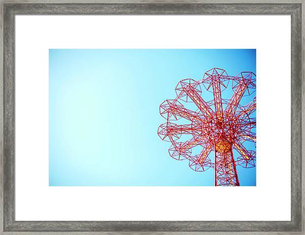 The Parachute Jump, Coney Island Framed Print