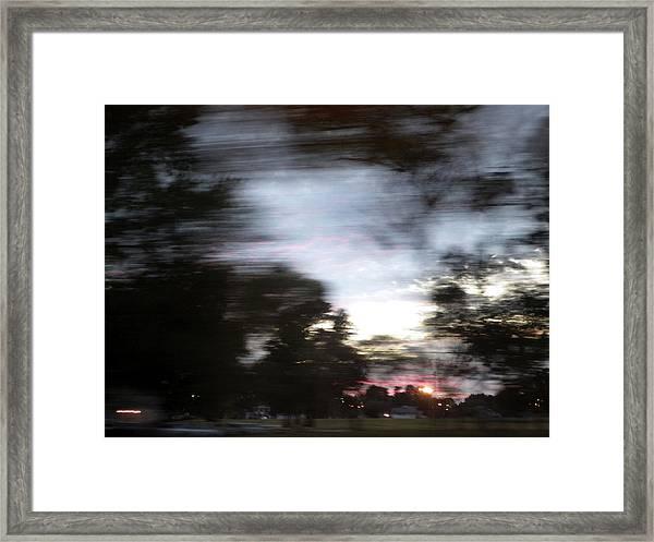 The Passenger 01 Framed Print