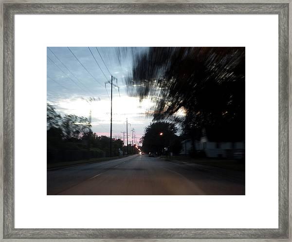The Passenger 03 Framed Print