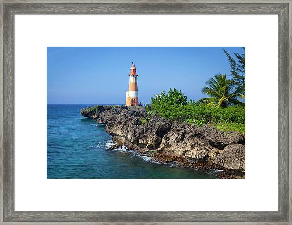 The Picturesque Folly Point Lighthouse Framed Print