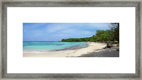 The Picturesque Setting Of Winnifred Framed Print