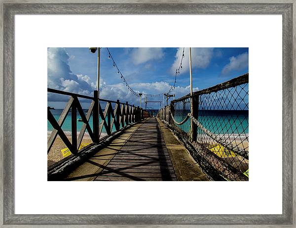 The Pier #3 Framed Print