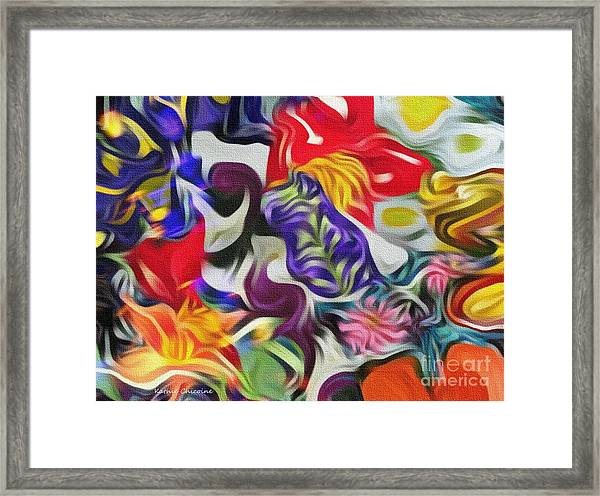 The Power Of Flowers Framed Print