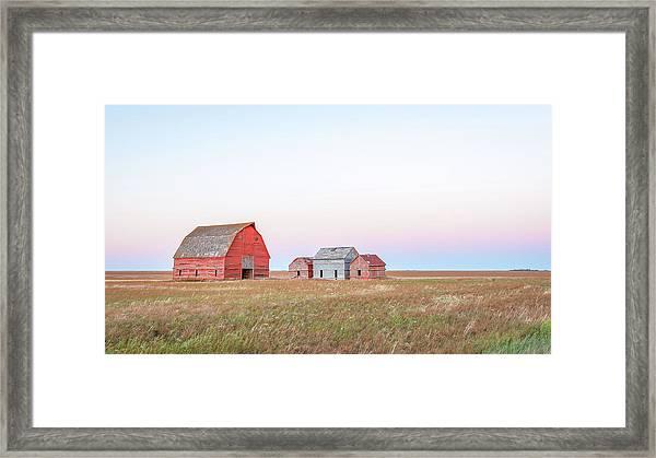 The Prairies Framed Print