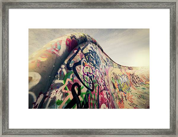 The Ramp Framed Print by Ppampicture