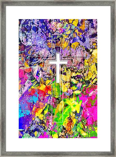 The Repairer Of The Breach Framed Print