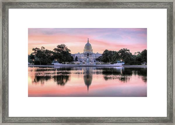 The Republic Awakens Framed Print