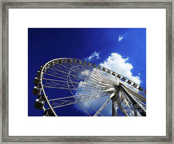 The Ride To Acrophobia Framed Print
