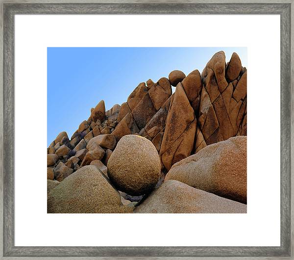 The Rock Shop Framed Print