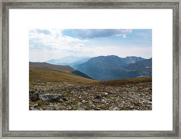 The Rocky Arctic Framed Print